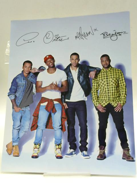 JLS Signed Photo By unknown