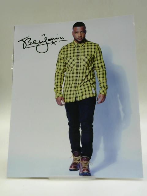 Signed Photo Of Benjamin From JLS By Unknown