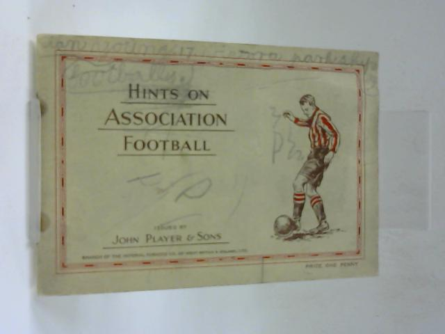 Hints On Association Football By Unknown