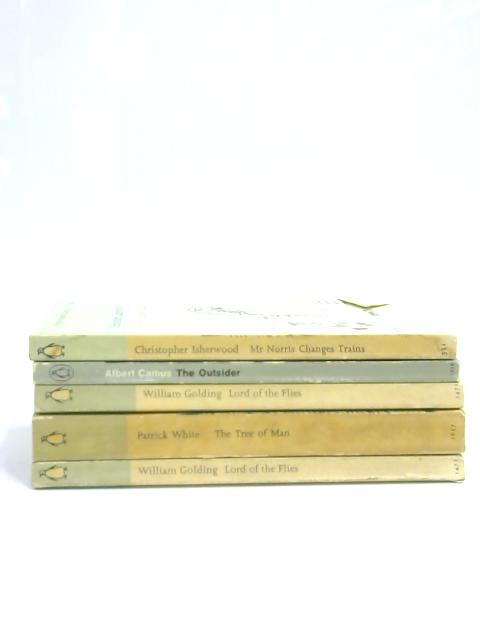 Set of 5 Penguin Classics Vintage Paperbacks by Various