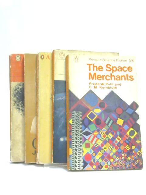 Set of 5 Sci-Fi Novels Penguin Classics Vintage Paperbacks by Various
