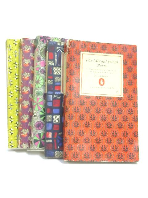 Set of 5 Penguin Poetry Books Vintage Paperbacks by Various