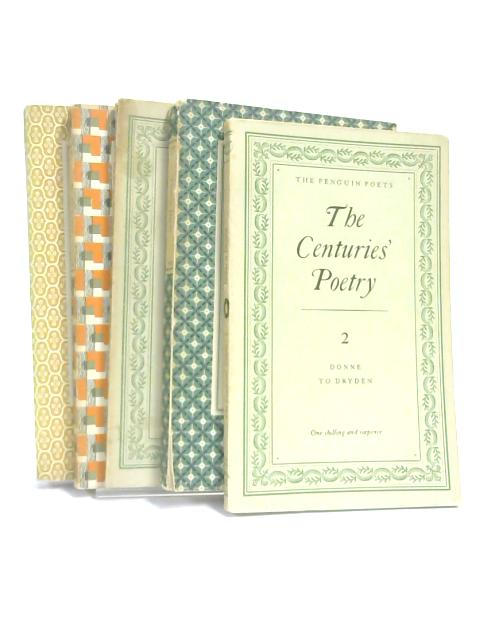 Set of 5 Poetry Penguin Classics Vintage Paperbacks by Various