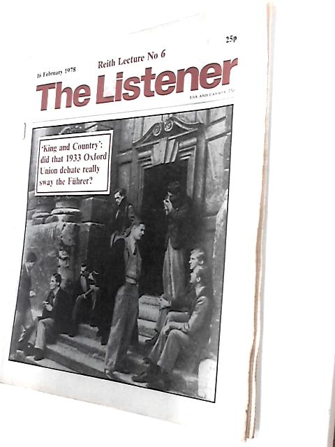 The Listener, 16 February 1978 By Unknown