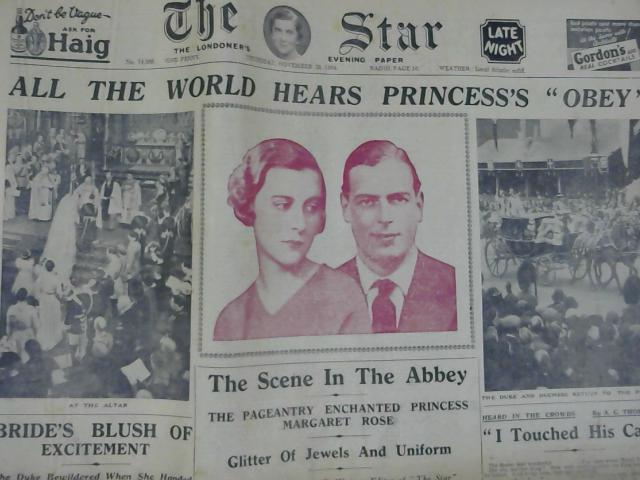 The Star 29th November 1934 By Unknown