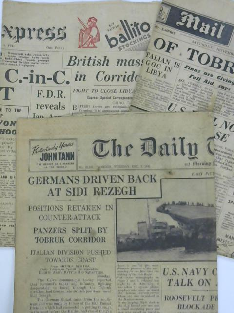 3 x 1941 Newspapers by Various