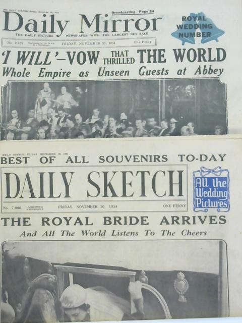 2 x Newspapers 30th November 1934 by Various