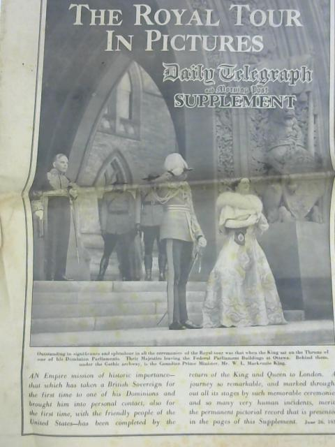 Daily Telegraph and Morning Post Supplement Royal Tour 26th June 1939 By Various