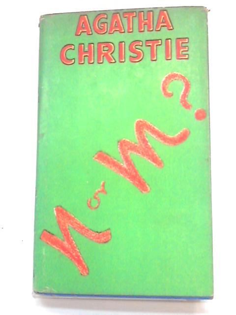 N or M? by Christie, Agatha
