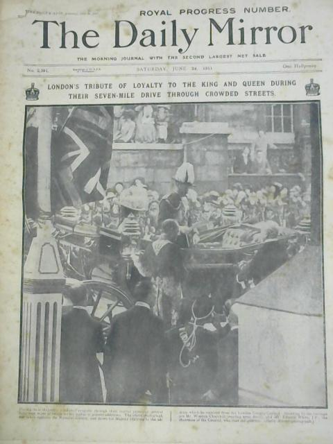 Daily Mirror 24th June 1911 By Various