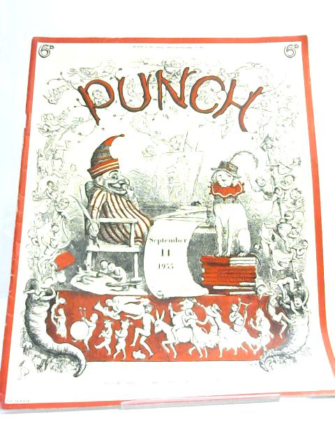 Punch, Vol. CCXXIX, September 14 1955 By Anon