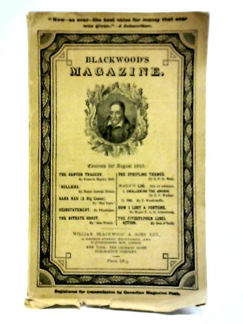 Blackwood's Magazine, August 1935 By Anon