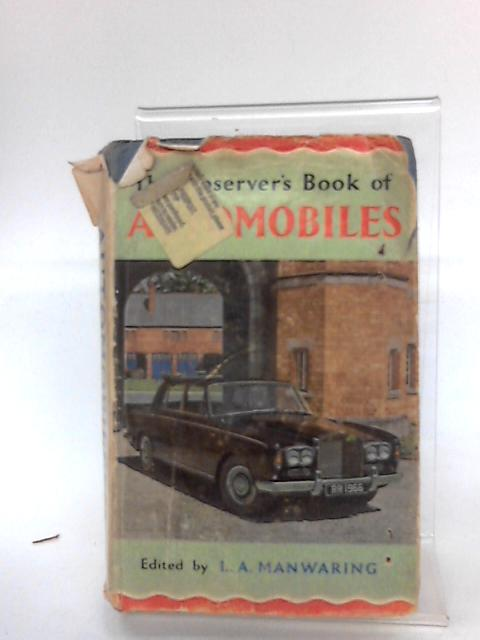 The Observer's Book of Automobiles - 1966 edition ( Book No 21) by Anon