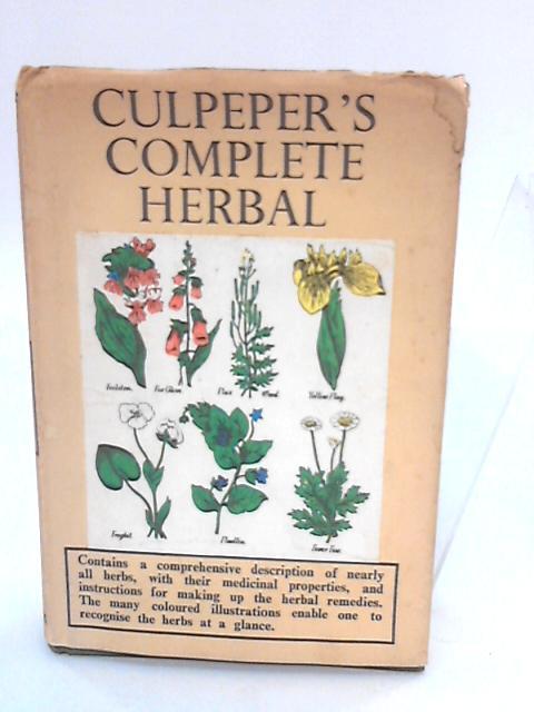 Culpeper's Complete Herbal by Culpeper