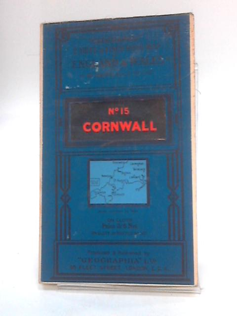 Geographia 2 mile to 1 inch sheet 15 cornwall By Anon