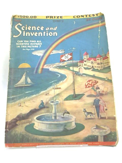 Science and Invention sep 1928 By Hugo Guersnback