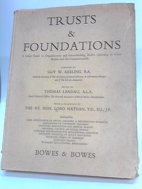 Trusts & Foundations by Keeling, G W