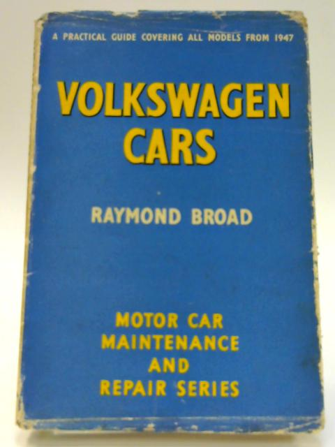 Volkswagen Cars by Raymond Broad