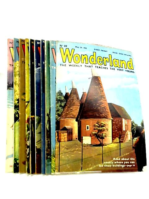 Wonderland, The Weekly that Teaches the Very Young, No. 89-98, May 24 - July 26 1963 by Various