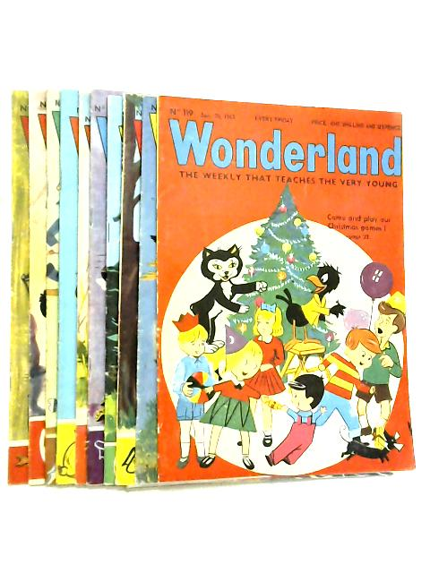 Wonderland, The Weekly that Teaches the Very Young, No. 119 - 128, December 20 1963 - February 21 1964 by Various