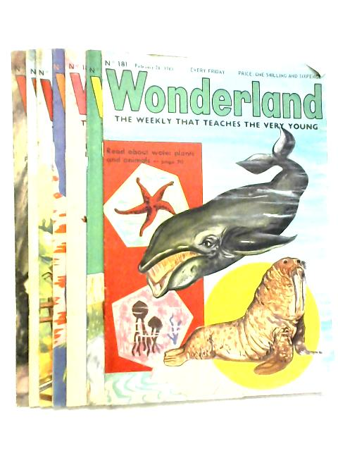 Wonderland, The Weekly that Teaches the Very Young, No. 181 - 187, February 26 - April 9 1965 By Various