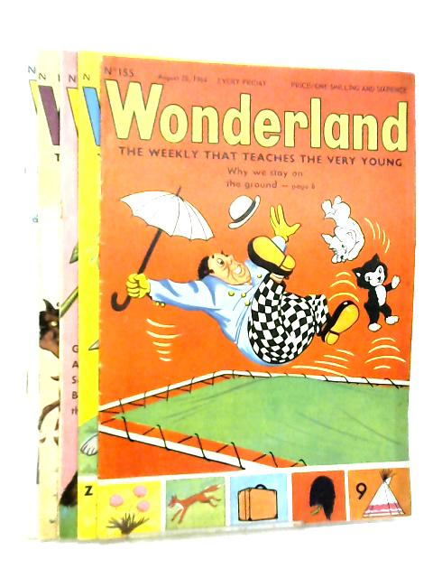 Wonderland, The Weekly that Teaches the Very Young, No. 155 - 159, August 28 - September 25 1964 by Various