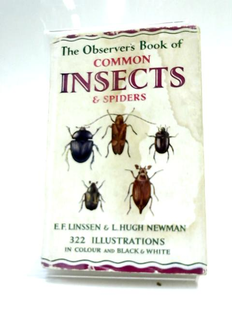 The Observer's Book Of Common Insects And Spiders by E F Linssen,