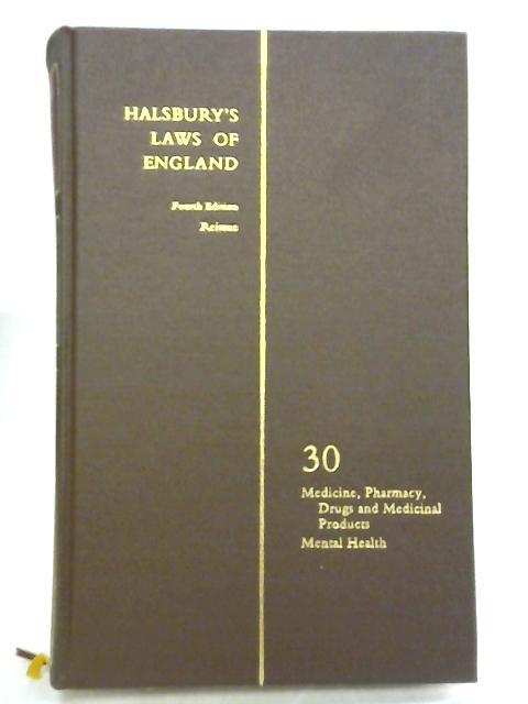 Halsbury's Laws of England Volume 30 by Lord Hailsham of St. Marylebone