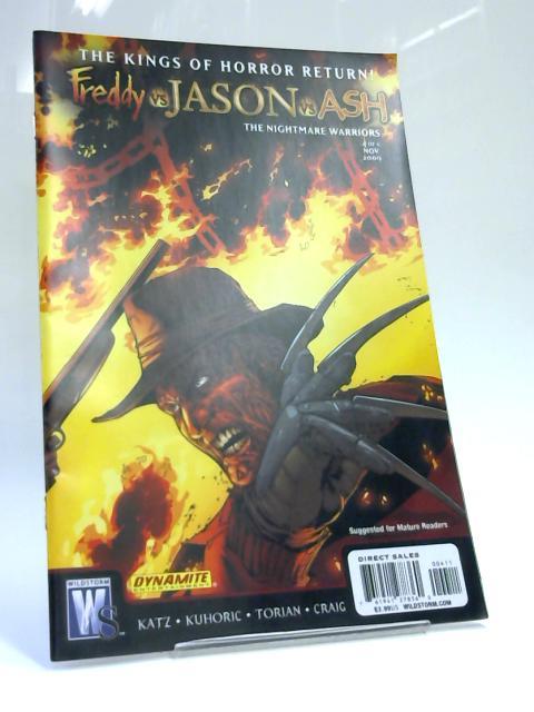 Freddy vs Jason vs Ash, No. 4 by Jeff Katz & James Kuhoric