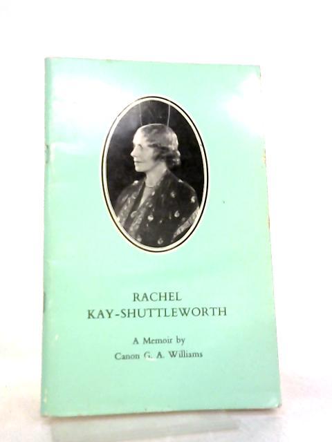 Rachel Kay-Shuttleworth by Canon G. A. Williams