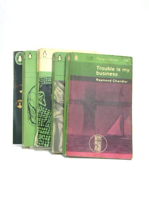 Set of 5 Penguin Crime Novels Vintage Paperbacks by Various