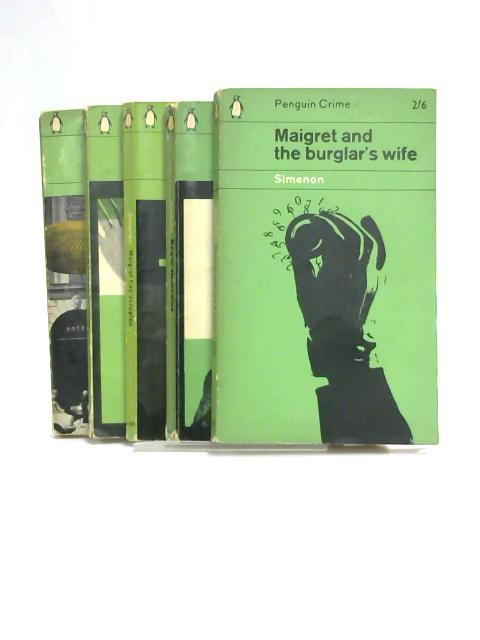 Set of 5 Georges Simenon Novels Penguin Crime by Georges Simenon
