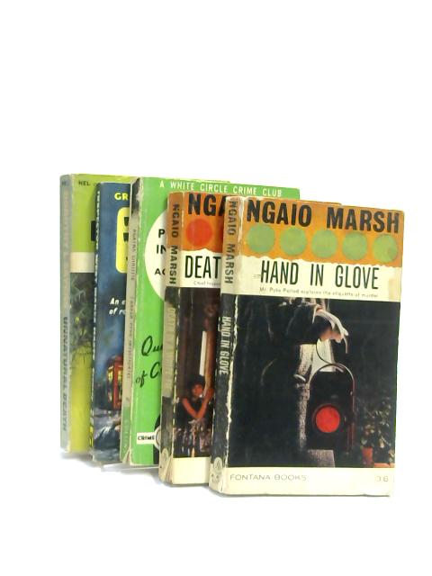 Set of 5 Crime Novels Vintage Paperbacks by Various