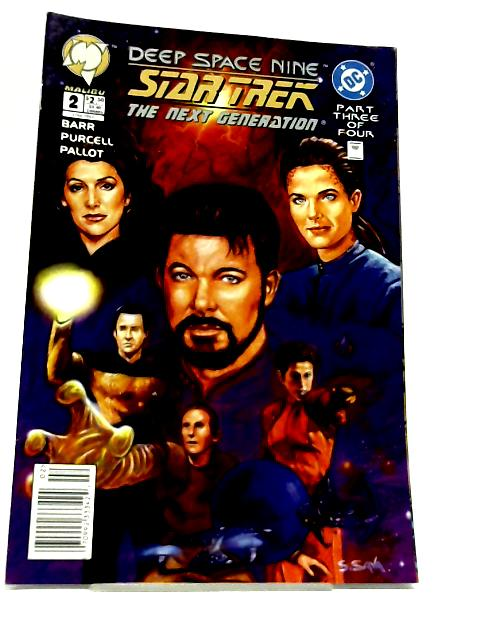 Star Trek: Deep Space Nine - Star Trek: The Next Generation #2 November 1994 By Unstated