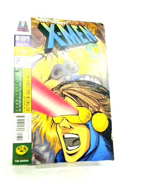 X-Men The Manga Vol 1 No 8 July 1998 By Reiji Hagihara et al