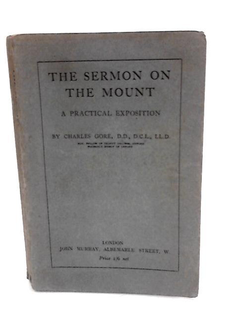 Sermon on the mount By Gore