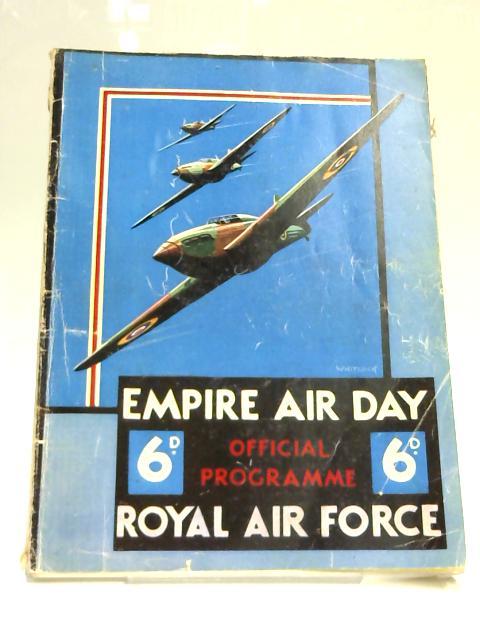 Empire Air Day RAF Official Programme by Anon