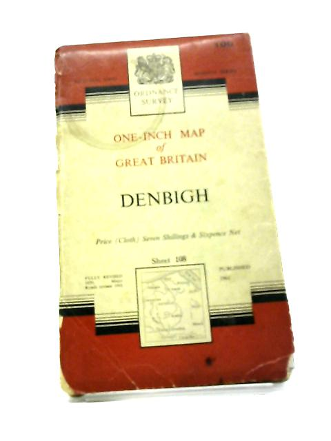 One-Inch Map Of Great Britain. Denbigh. Sheet 108 By Anon