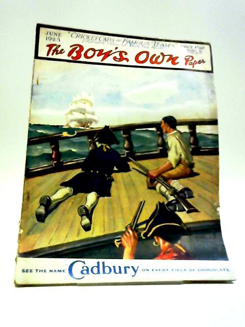 The Boy's Own Paper June 1923 by J. Claverdon Wood