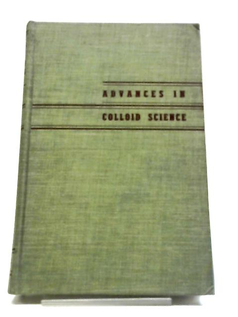 Advances In Colliod Science Volume III By H. Mark and E. J. W. Verwey