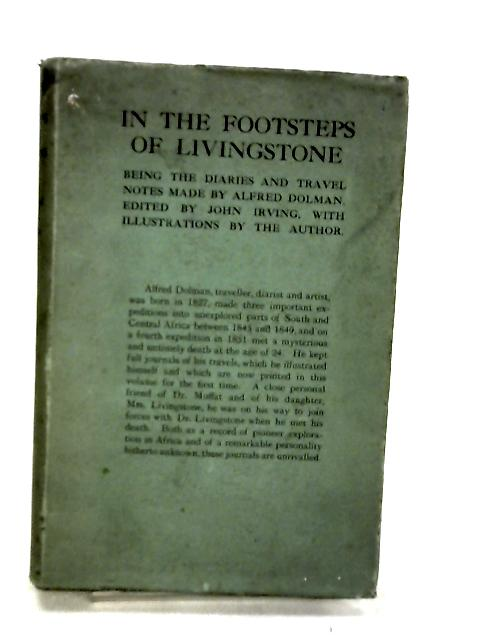 In the Footsteps of Livingstone by Dolman, Alfred