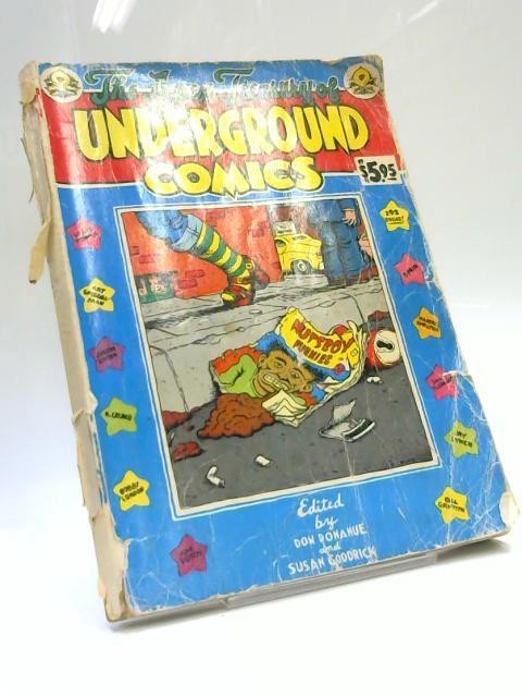 The Apex Treasury of Underground Comics by Susan Goodrick