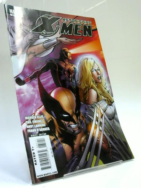 Astonishing x men No. 31 by Warren Ellis