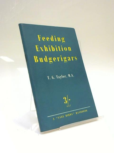 Feeding Exhibition Budgerigars by T. Geoffrey Taylor