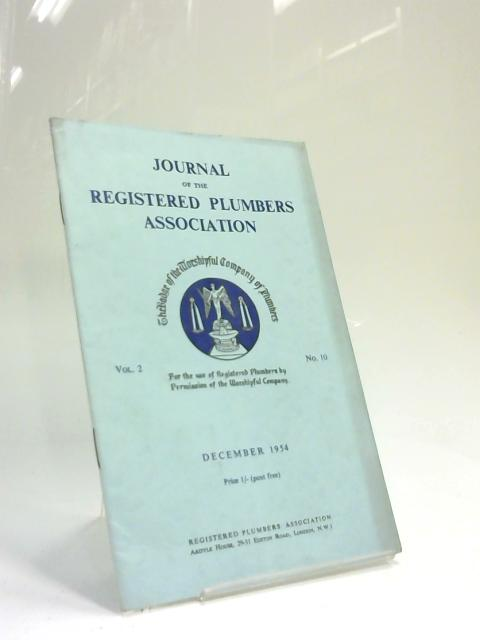 Journal of the Registered Plumbers Association December 1954 by Anon