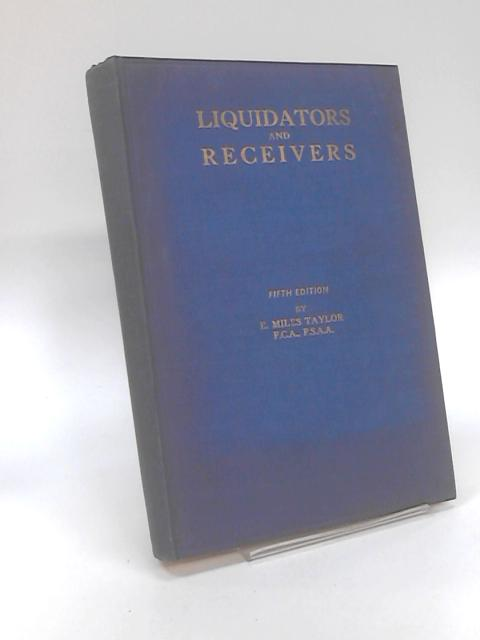 Liquidators and Receivers by Edward Westby Nunn