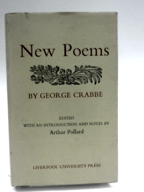 New Poems by Crabbe, George