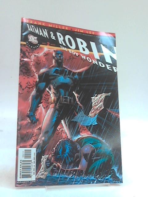 Batman and robin The boy wonder No 2 by Frank Miller, Jim Lee