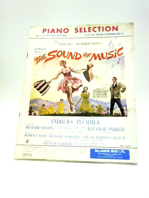 Piano Selection Sound Of Music by ROdgers & Hammerstein
