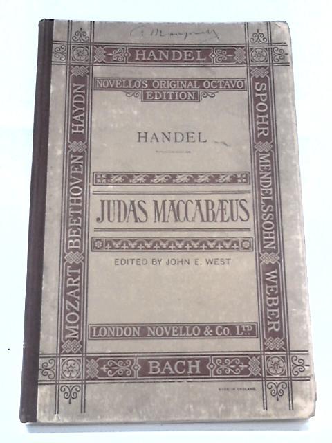 Judas Maccabaeus, Novello's original octavo edition by Handel